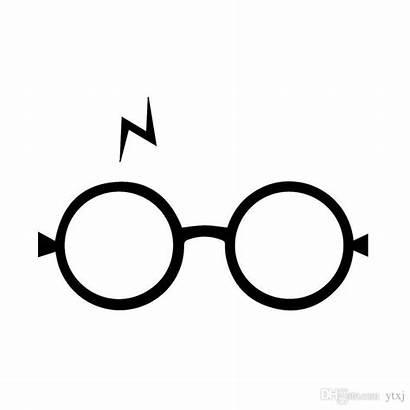 Potter Harry Glasses Stickers Decals Vinyl Sticker