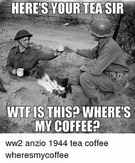 WW2 Coffee Meme