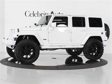 black jeep 4 door white 4 door jeep wrangler i prefer the black soft top