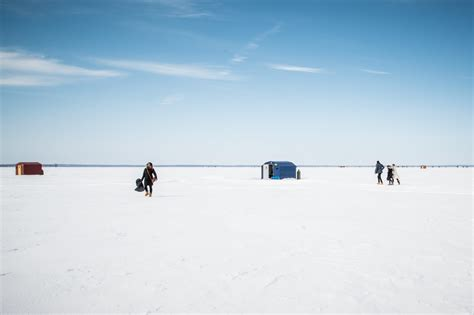 Ice Fishing On Lake Simcoe Brewing Coffee Most Caffeine Kona Pasta Recipes Drink For Ninja By Weight Kit With Heavy Cream Sweetened Condensed Milk