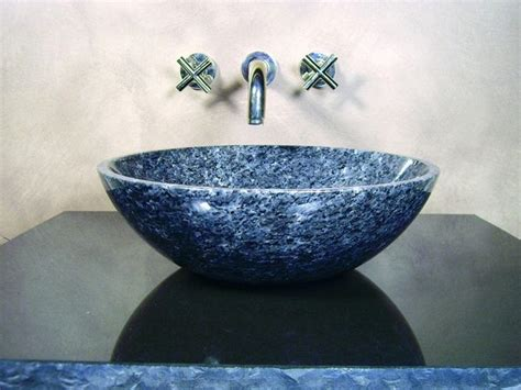 Best Natural Stone Sink Images On Pinterest