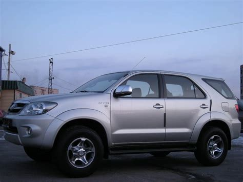 Toyota Fortuner Photo by 2006 Toyota Fortuner Photos 2 7 Gasoline Automatic For Sale
