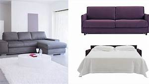 canape lit couchage quotidien conseil With canape lit ultra confortable