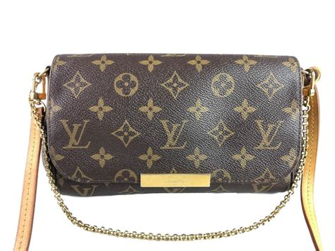louis vuitton favorite pm monogram brown canvas cross body