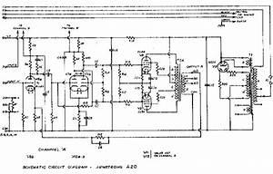The Armstrong A20 Amplifier Circuit Diagrams