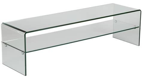 meuble tv en verre design meuble tv en verre courb 233 avec un rayon meuble tv design
