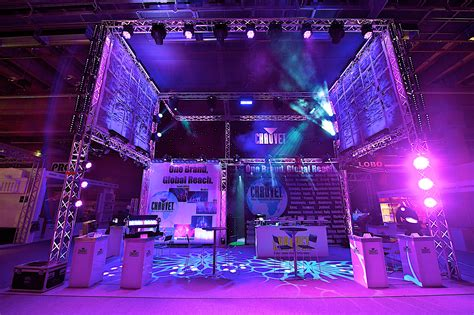 pro sound and lighting exhibition stands in frankfurt