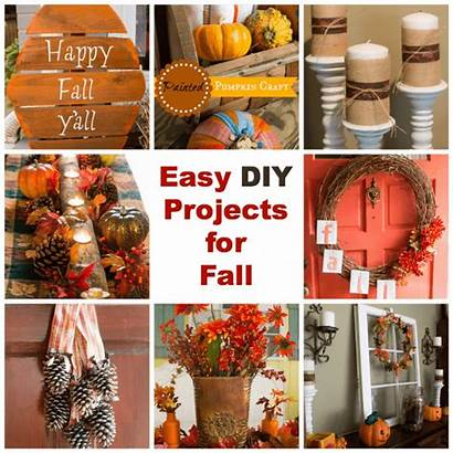 Diy Easy Projects Fall Door Crafts Fun