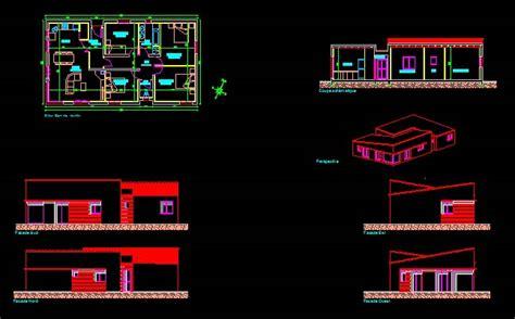 plan de maison plain pied 5 chambres télécharger plan maison plain pied 123 fichier dwg