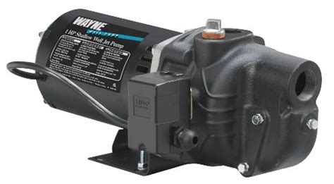 Wayne Sws100 1 Hp Cast Iron Shallow Well Jet Pump For