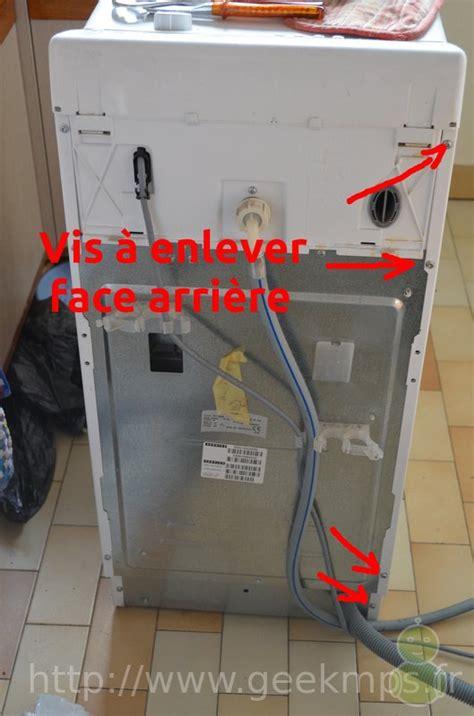 ou se trouve le condensateur sur un seche linge machine 224 laver laden nettoyage filtre