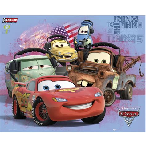 deco chambre winnie poster cars 2 quot quot de disney 40 x 50 cm decokids