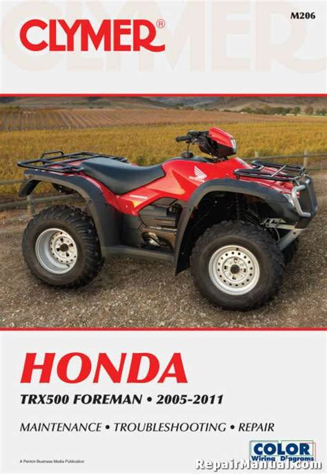 trx foreman   honda atv service repair manual