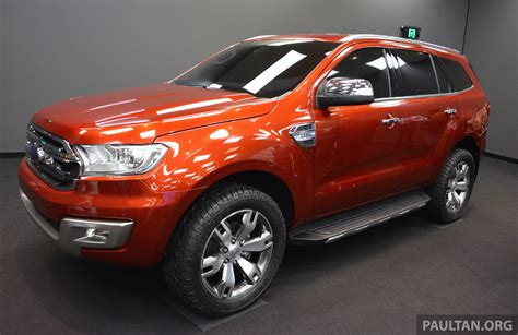 New Ford Everest To Be Revealed In China Next Week Image