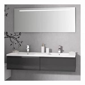 Double Vasque 140 : mobiliers de salle de bain discac achat vente de ~ Edinachiropracticcenter.com Idées de Décoration
