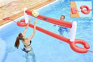 Jeux Gonflable Pour Piscine : volley ball gonflable et flottant pour piscine ~ Dailycaller-alerts.com Idées de Décoration
