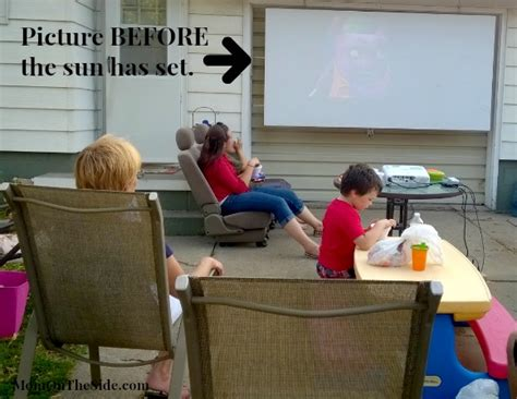 epson home cinema diy outdoor  screen