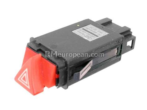 hazard flasher switch with turn signal emergency flasher relay 8n0941509b genuine vw audi audi genuine vw audi hazard flasher switch with turn signal emergency flasher relay 4b0941509kb98