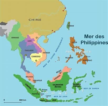Philippines Mer Carte Monde Cartes Geographie Voyages