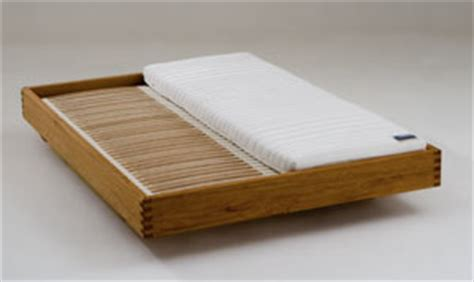 Massivholzbett Lounge Metallfrei  Betten Aus Massivholz