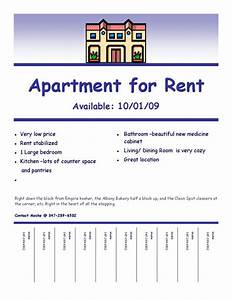 apartment for rent flyer template yourweek 4e4a29eca25e With apartment flyers free templates