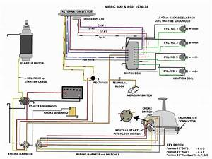1974 Mercury Outboard Ignition Switch Wiring Diagram