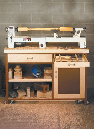 mini lathe stand woodsmith plans wood turning