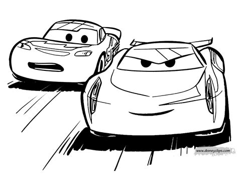 Coloring Cars by Disney Pixar S Cars Coloring Pages Disneyclips