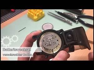 Batteriewechsel Uhr Wasserdicht : batteriewechsel einer armbanduhr fossil jr1223 verschraubter boden youtube ~ Eleganceandgraceweddings.com Haus und Dekorationen