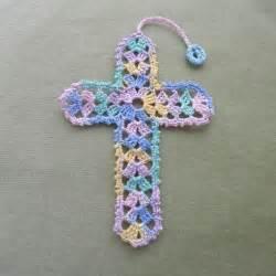 Crochet Cross Bookmarks Patterns
