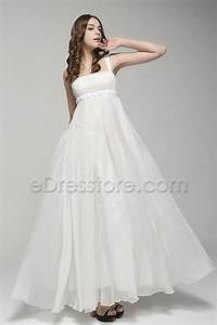 elegant flowing chiffon beach wedding dresses With flowing beach wedding dresses