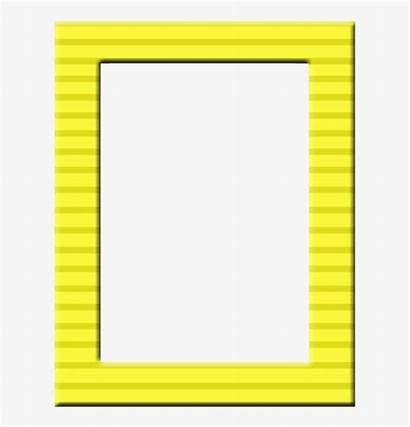 Frame Borders Frames Yellow Printable Clipart Transparent