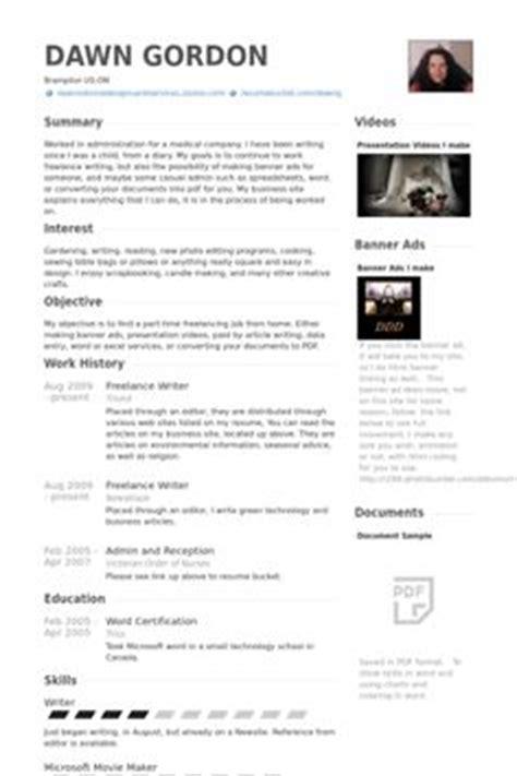 Free Resume Writer Service by Freelance Writer Resume Exle Resumecompanion