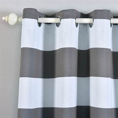 Drapes Blackout Grommet Curtains Thermal Insulated Window