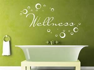 Wandtattoo Bad Günstig : wellness wandtattoo wellness von ~ Markanthonyermac.com Haus und Dekorationen