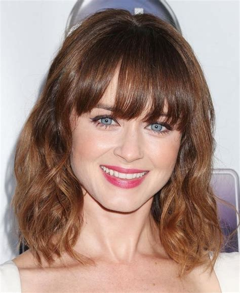 2020 Popular Long Haircuts With Bangs And Layers For Round