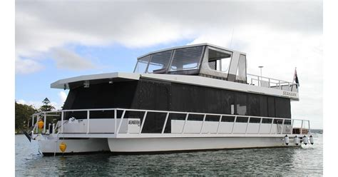 Trimaran Houseboat by Houseboat 60ft For Sale Trade Boats Australia