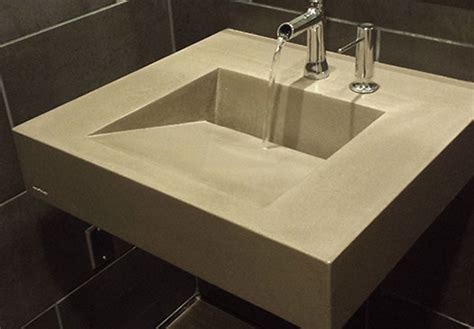 incline trough sink ramp style commercial  custom
