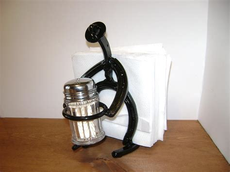 Cowboy Napkin And Toothpick Holder