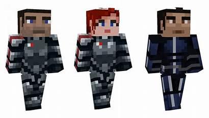 Effect Mass Minecraft Map Bedrock Skins Edition