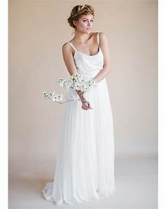 Plus size long robe mariage 2015 simple summer bohemian for Robe simple mariage