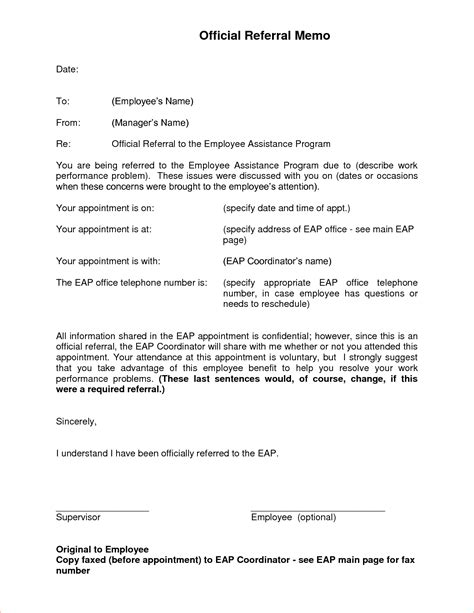 Template For Writing A Memo by 9 Memo Letter Format Memo Formats