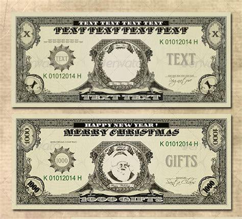 Money Template 15 Money Psd Template Images Dollar Bill Template