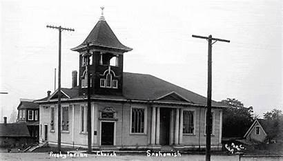 Church Snohomish Presbyterian 1910 Circa Then