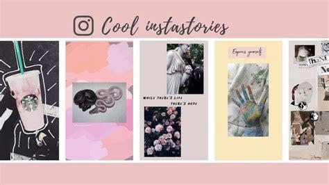 cool instagram stories tumblr minimalist aesthetic