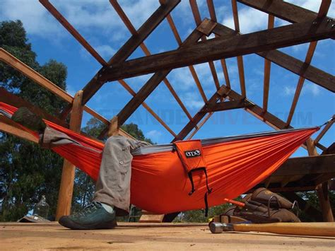 Eagles Nest Hammock by Eagles Nest Outfitters Eno Singlenest Hammock Orange Grey