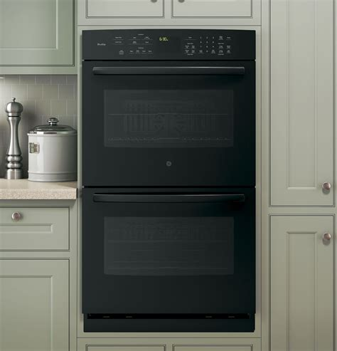 oven ge wall double profile built series convection appliances specs