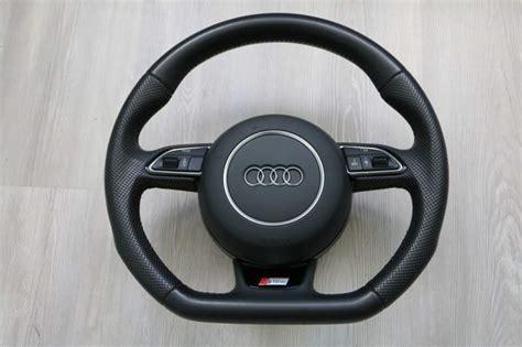 Volante Audi A4 Volante Tagliato Piatto S Line Audi A4 B8 A5 A