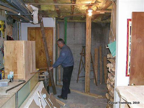 comment construire chambre froide construire une chambre froide au sous sol guide plan de