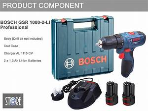 Bosch Gsr 12 Ve 2 : bosch gsr 1080 2 li professional cordless drill driver ~ Orissabook.com Haus und Dekorationen